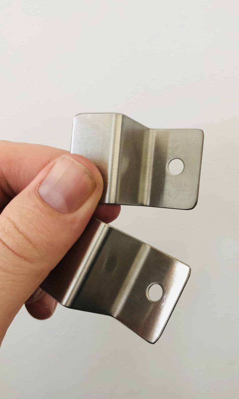 2 x Tucker S Brackets for Flat Lid, , Tucker Barbecues