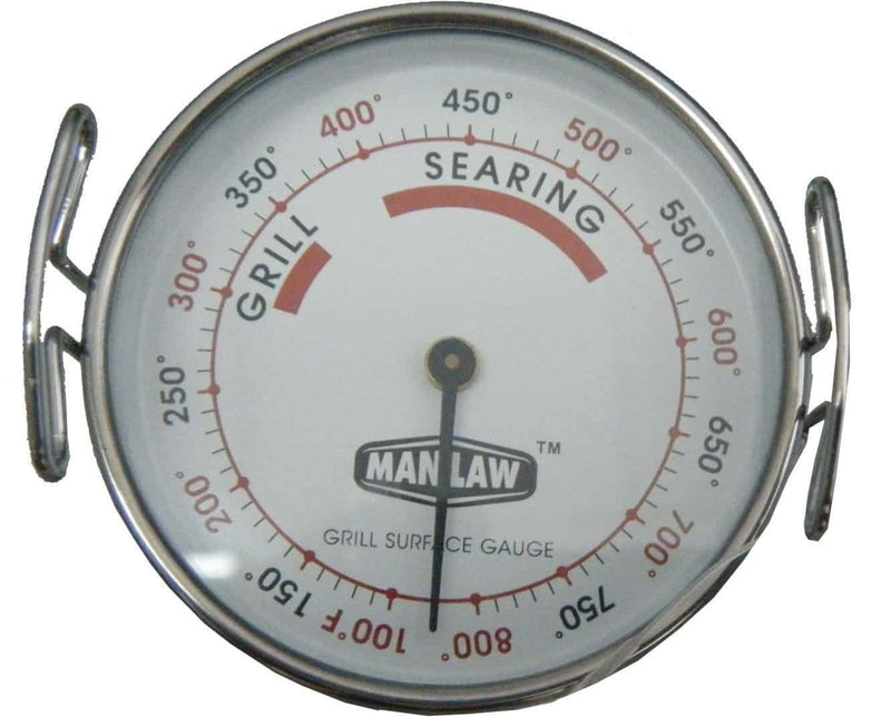 Man Law Grill Surface Gauge, BBQ Accessories, Man Law Premium BBQ Tools