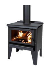 Masport Redcliff R1200 Freestanding Wood Fireplace, Heater, Glen Dimplex