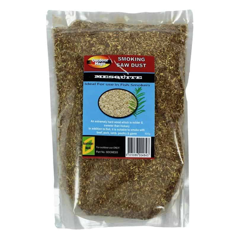 Outdoor Magic Mesquite 500g Smoking Sawdust, BBQ Accessory, S&D Berg