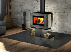 Osburn Soho Wood Fire (Two Side Stacker), Wood Fireplaces, n/a