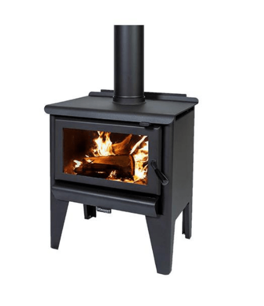 Masport Rockwood R3000 Freestanding Wood Fireplace, Heater, Glen Dimplex