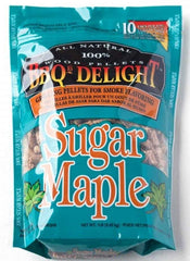 BBQr's Delight Sugar Maple 450g Smoking Pellets, BBQ Accessory, S&D Berg