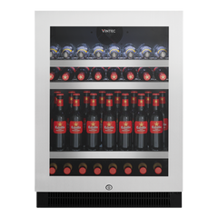 Vintec 100 Bottle Stainless Steel Beverage Centre, Fridges & Coolers, Vintec