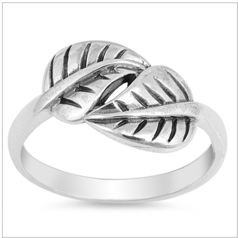 Wrap leaf Ring