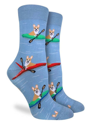 Women's Crew Corgi Kayaking Socks