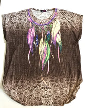 Feather Fun Top Summer /17