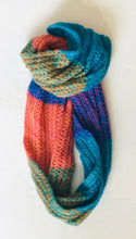 Knit Infinity Multi Colour Scarf