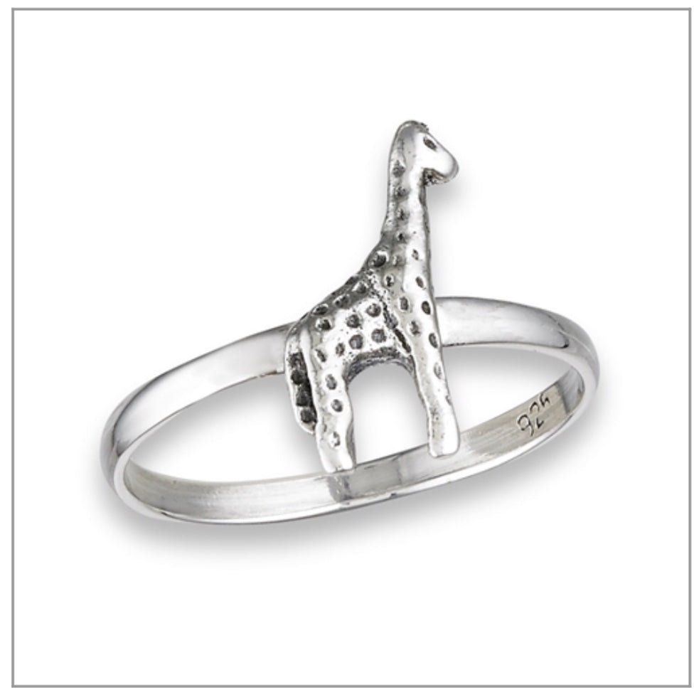 925 Sterling Giraffe Ring