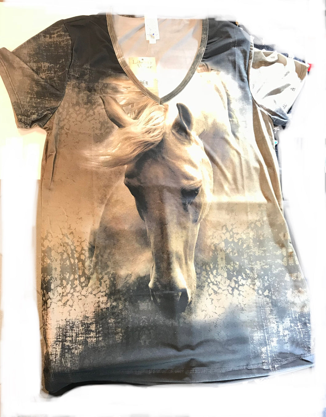 Single Horse Grazing T Shirt