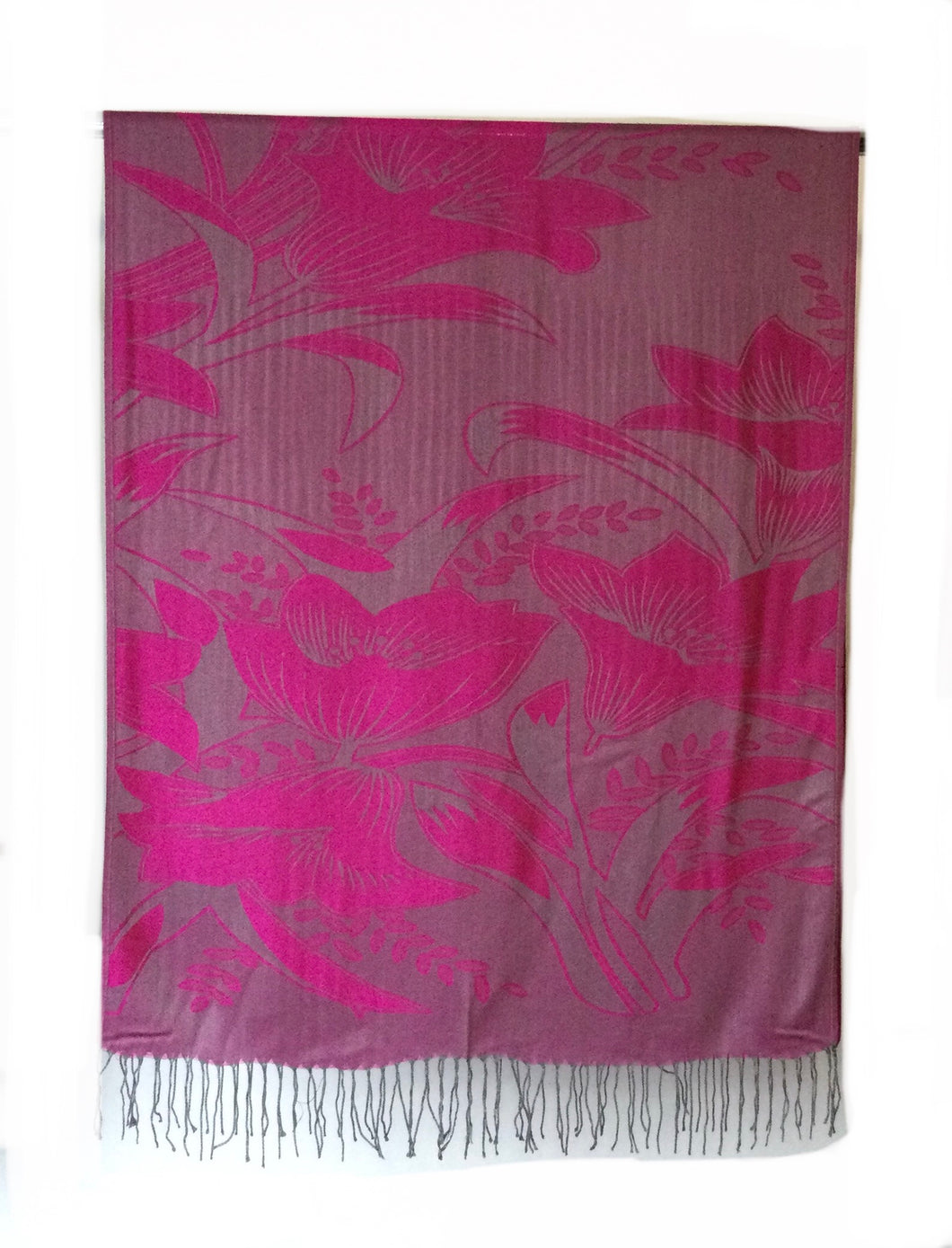 Pashmina Flower Butterfly design scarf