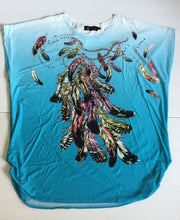 Falling Feathers Fun Top