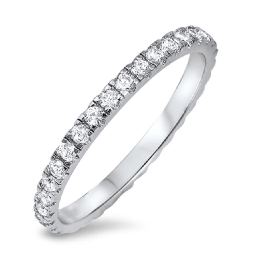 925 Sterling Eternity Band