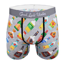 Men's Boxer Briefs Liquor Bottle Underwear
