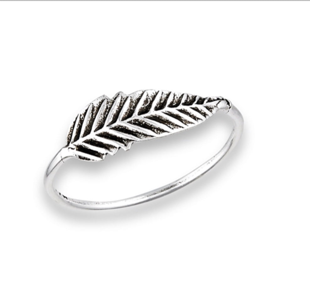 Smal Wrap feather Ring