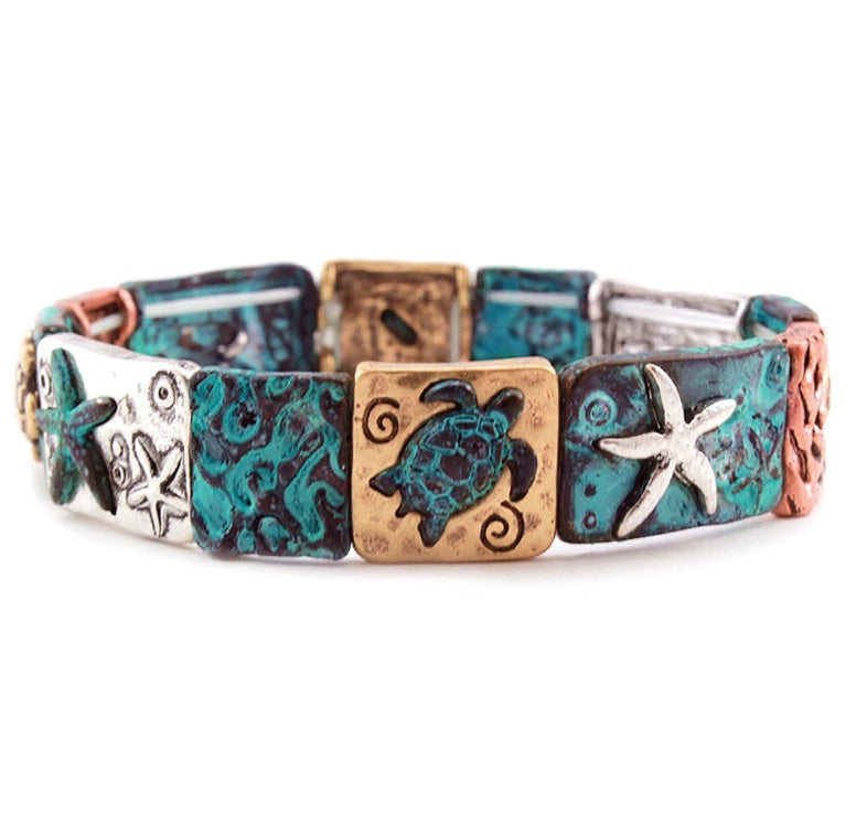 Starfish/ Tortoise Stretch Bracelet