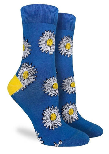 Women's Crew Daisy Flower Socks