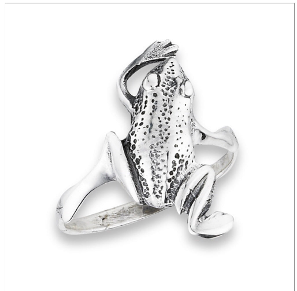 Leaping Frog Ring