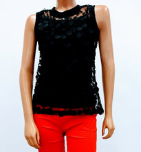 3D Rose design lace Top