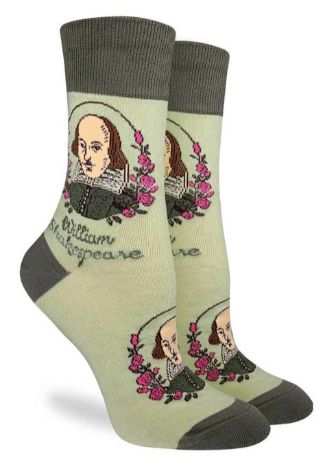 Women's Shakespeare Crew Socks