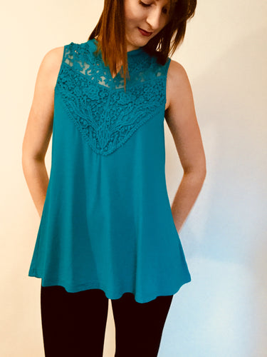 Bamboo Lace Tank Top