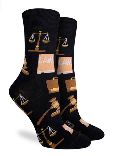 Women's Crew Law Socks
