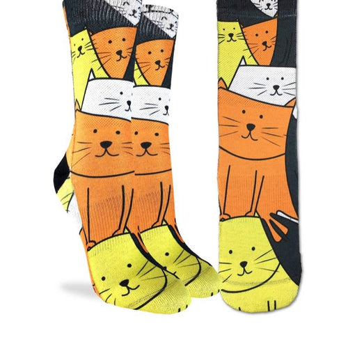 Women's Cats are Watching Active Fit socks