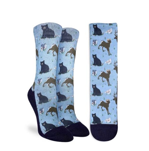 Women's Mountain Animals Active Fit Socks