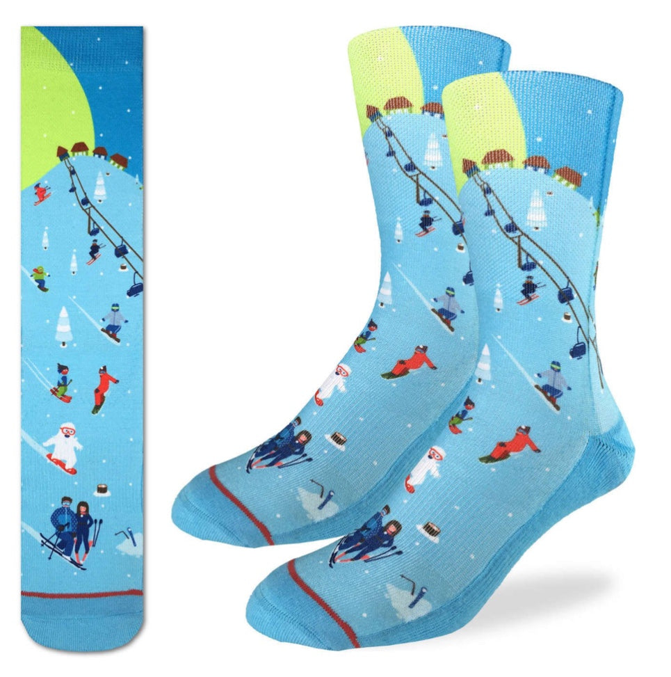 Men's Skiing Active Fit Fun Sock