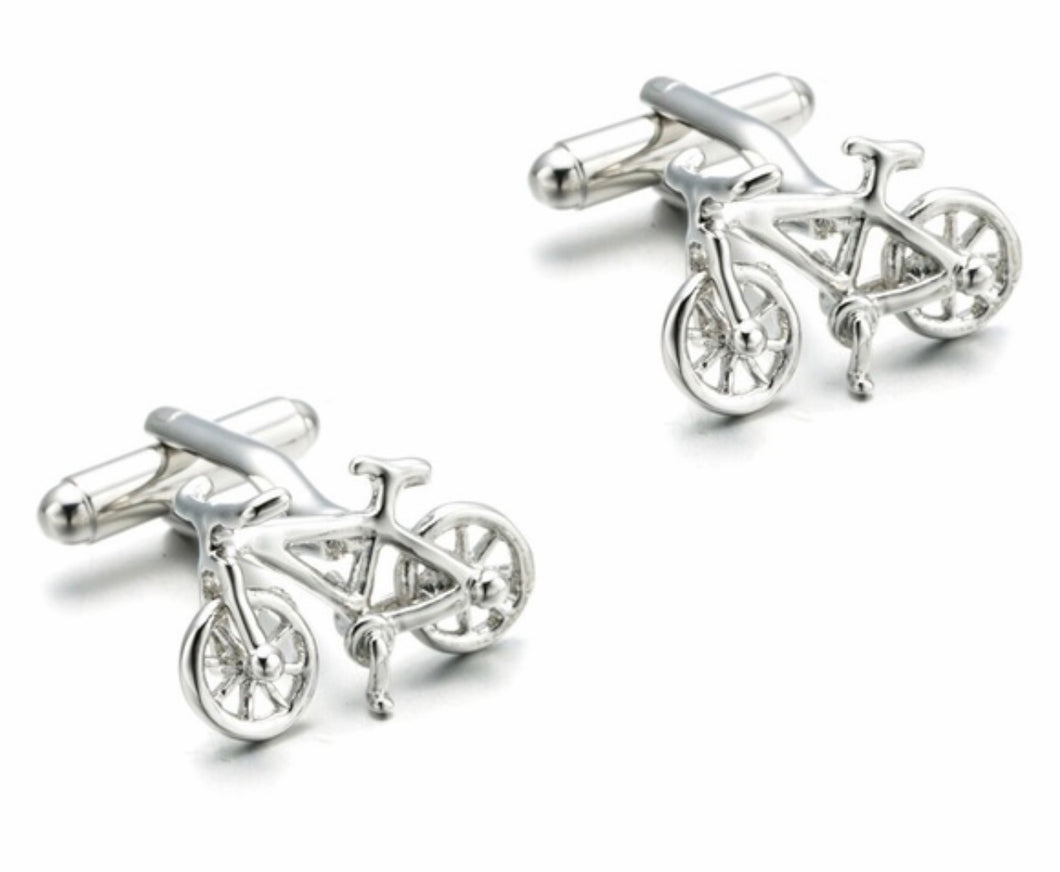Bicycle Men's Cufflinks