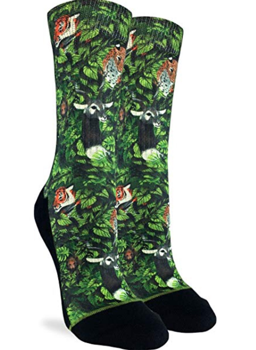Women's Jungle Active Fit Fun Sock