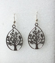Tree of Life tear drop Earring