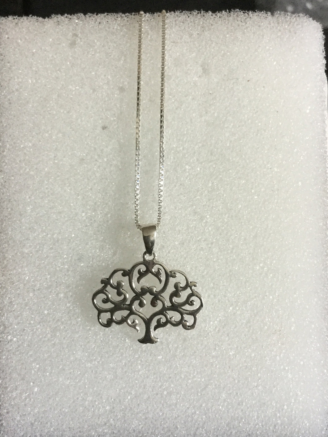 Tree of life cloud pendant