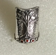 Tree of Life Shield Ring