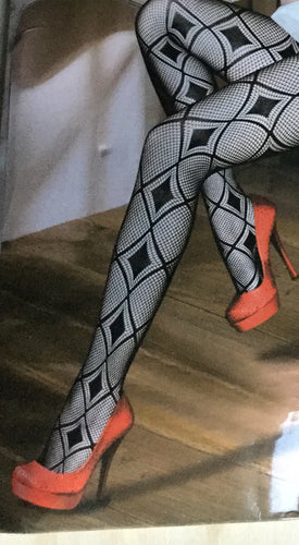 Sheer Diamonds Tights