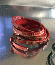 Inpseration Leather Wrap Bracelet
