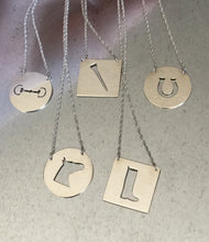 Equestrian Tag Necklaces