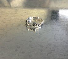 """Believe"" Sterling Silver Ring"