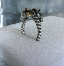 Double Horse head Ring