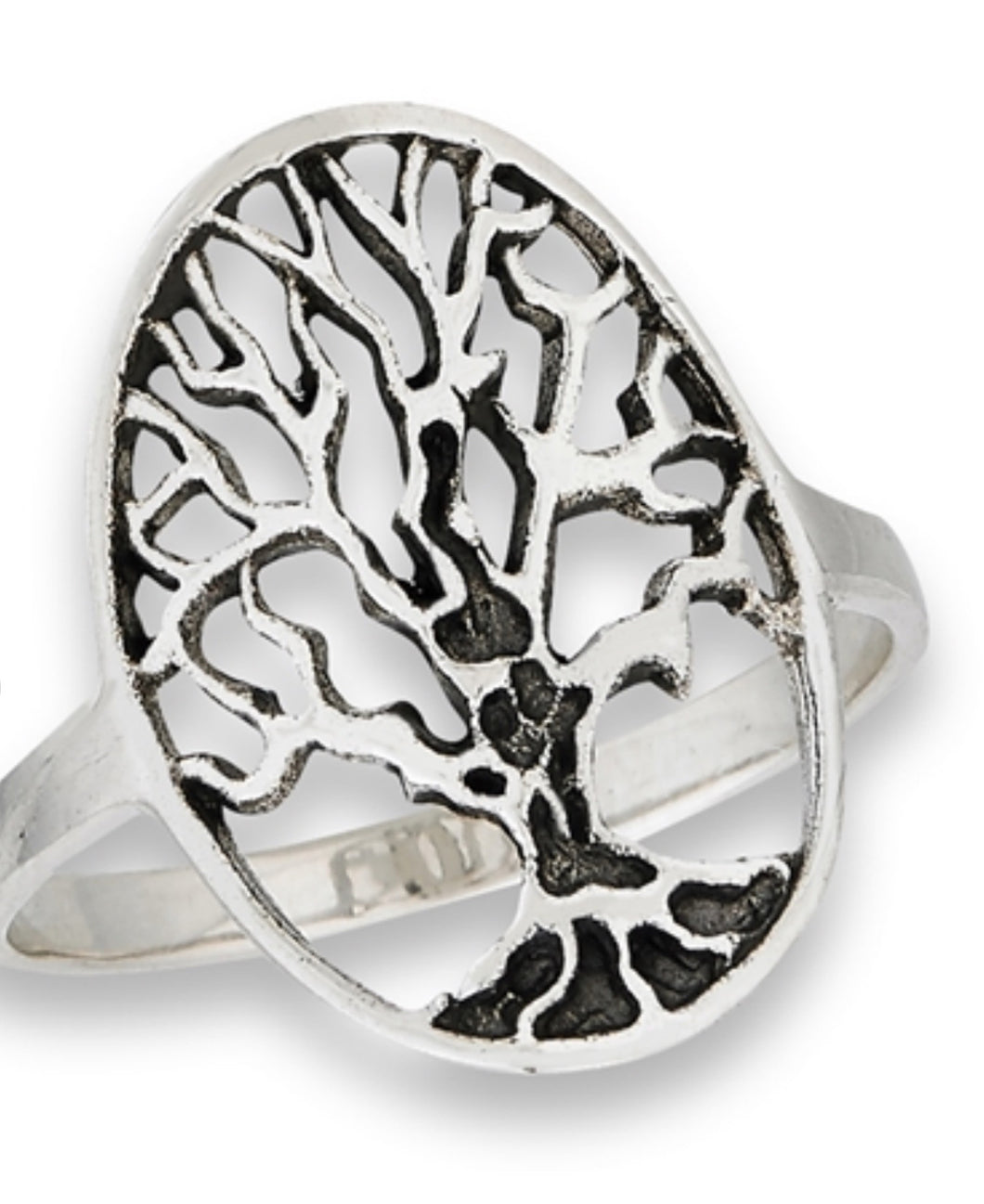 Tree of Life Oval ring
