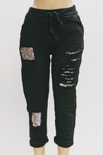 Cotton/Sequence Crop Pant