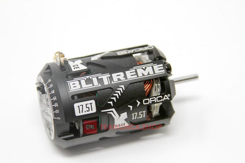 PREORDER - ORCA Blinky Extreme - BLITREME 17.5T Sensored Brushless Motor *NEW WINTER 2017 - OMB175BL