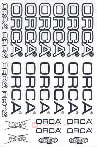 ORCA STICKER - DIE CUT - OSTK200B