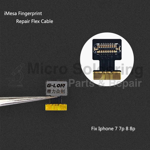 Iphone 7 Touch Id Flex Cable Replacement: iPhone Fingerprint Repair Flex Cable For iPhone 7 7P 8 8P Touch ID rh:microsolderingparts.com,Design