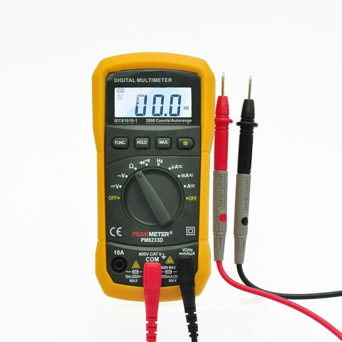 PM8233D Auto-Ranging Digital Multimeter