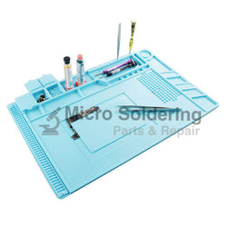 S-160 Heat Insulation Silicone Pad with Screws Box