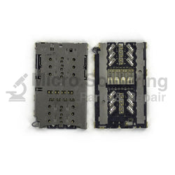 Sim Card Reader and MicroSD Tray for Samsung Galaxy S7 Edge G935 Series