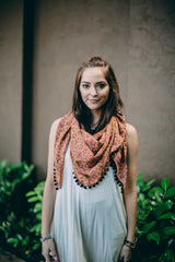 NOMAD SCARF SHAWL WRAP RED