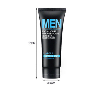 Facial cleansing wash for Men