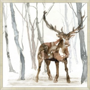 Elk in the Forest 2